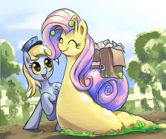 Fluttersnail Mail by GSphere