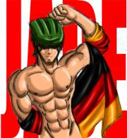 GermanBeefcake by chibikasai
