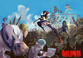 Kill la Kill cut paste and kill ! by Nayth