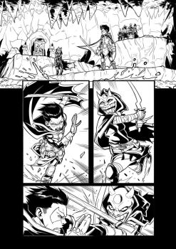 Teen Titans - (test page) Page 01 by darnof