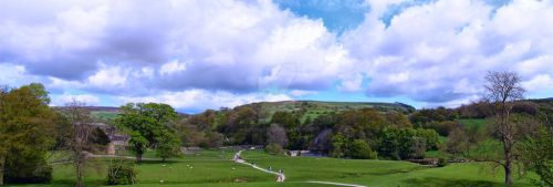 Bolton Abbey Panorama by Spe4un