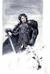 Jon Snow by fsgu