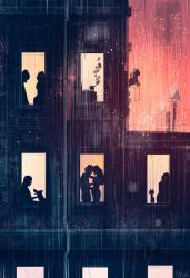 Tired and rainy by PascalCampion