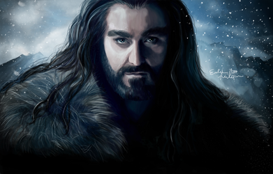 Thorin Oakenshield by EvelinaLindqvist