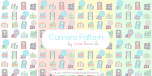 Mix Camera Patterns for Photoshop and .png by MissLavanda