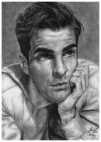Zachary Quinto by Ilko94