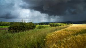 Storm over Strathmore by Greg-McKinnon