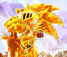 Excalibur Sonic by halfway-to-insanity