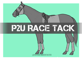 Wickedlyfrosted 1 0 P2U Thoroughbred Race Tack By MoonShineEstates