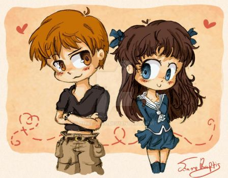 Fruits Basket - Tohru and Kyo by Chibi-Joey