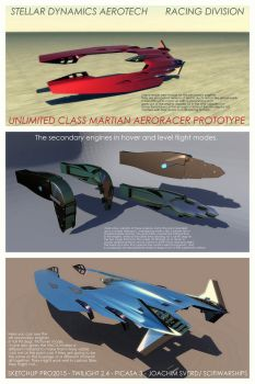 1-martian Aeroracer4 by Scifiwarships