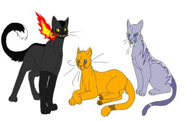 Named/Hunter Yearlings by BittyKitty1