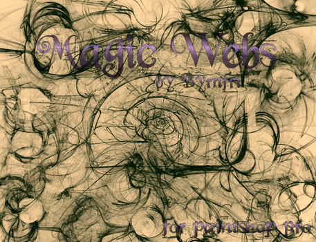 Magic Webs set of 20 by byrnfri-resources