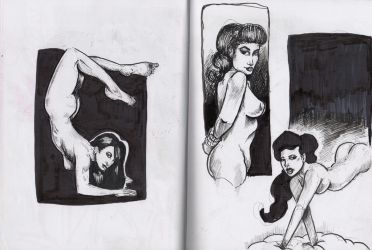 sketchbook drawings by jaimie13