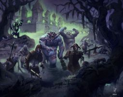 Rise of the Undead by Savedra