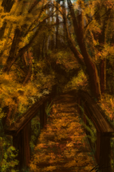 Bridge into Fall by Echonyx
