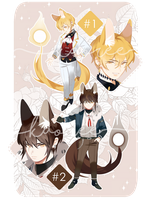 lunafel - first set auction (closed) by kaoree