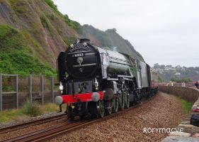 LNER 60163 'Tornado' at Teignmouth by The-Transport-Guild