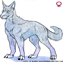 Wolf Adopt 3 Closed by LadyDistort