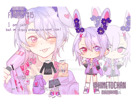 [CLOSED_AUCTION] Flaurist#15 adopt by Himetochan