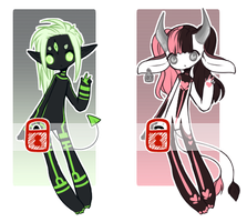 Misc. Adopts v.6 [[SOLD]] by Omega-Fluff