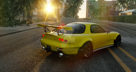 The Crew   Mazda RX-7 (performance) by 3xhumed