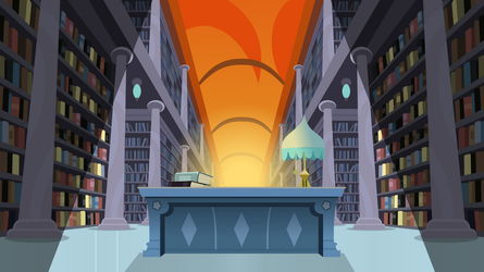 Dream Library by Jeatz-Axl