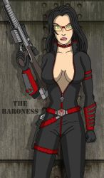 The Baroness (with shading) by crashmurdoch