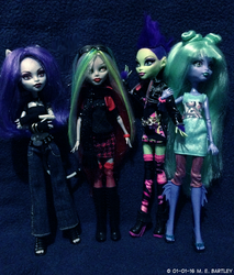 Monster High OCs by generalmanx
