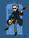 Doctor Who - Guitar Hero by caycowa