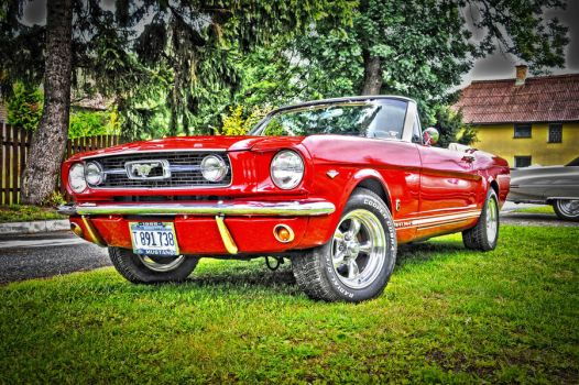 mustang HDR by haziskret