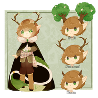 Set Price :: Forest Guardian [ Closed ] by Devi-Adopts