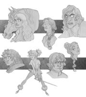 Game of Thrones sketchdump I by kyla79
