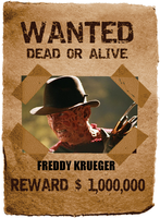 Tankman Inc's Most Wanted: Freddy Krueger by thephilipvictor