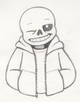 Sans sketch by Whimsy-Floof
