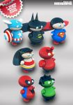 Archigraphs Heroes Dock Icons by Cyberella74