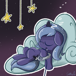 Gamer Luna was a Woona Once by Slitherpon