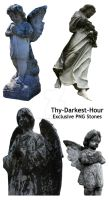 Angel Statues by Thy-Darkest-Hour