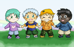 Chibis - Unity by mdchan