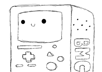 MS Paint BMO by Seraphinae