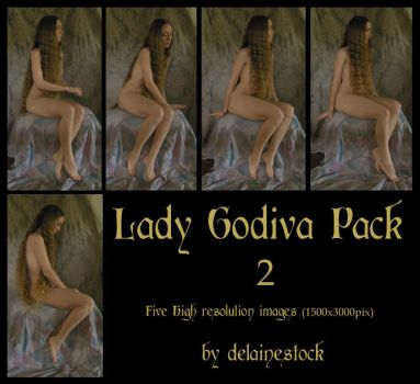 Lady Godiva Pack 2 by delainestock