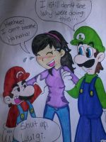 The Mario Bros. Strike Again! by MC-Ash-Tray