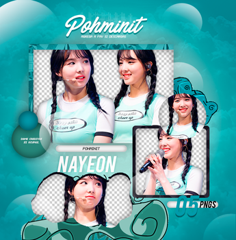 +Pack Png Twice|Nayeon 02 by Pohminit