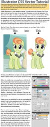 Illustrator Pony Vector Tutorial by SirCxyrtyx