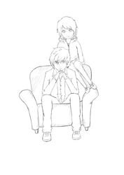 Sofa by wishes0007