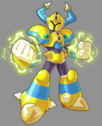 Commission: Fuse Knight by ultimatemaverickx