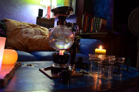 Coffee by Candlelight by coffeenoir
