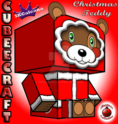 Christmas Collection Teddy Bear Cubeecraft by SKGaleana