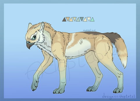Gryphon of the steppes adoptable Auction [OPEN] by Utulivu