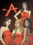 Pretty Little Liars - Art Commission by ChiaraDiFrancia